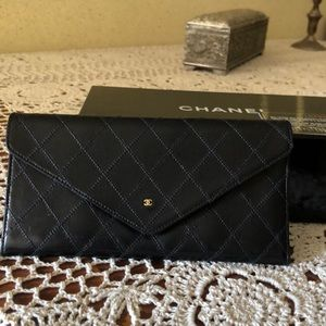 Chanel envelope wallet